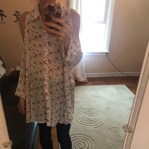 Floral Blouse- Free People Style